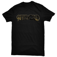 Knifeworld Gold Logo T-Shirt: Womans M (uk10-12)