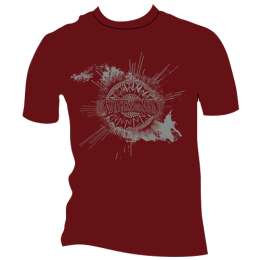 Knifeworld logo shirts back in stock:  red, black, green