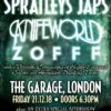 Special London show with Spratleys Japs 21.12.18